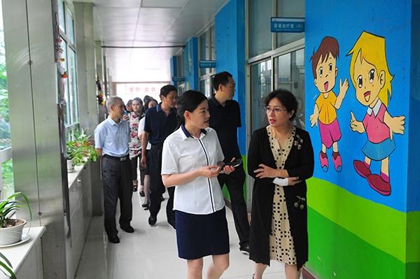 大庆市政协来集团学习考察康复医疗服务体系建设工作